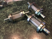inline fuel filter BY OMG of ITALY